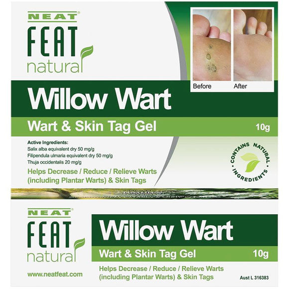 Neat Willow Wart Wart & Skin Tag Gel 10g