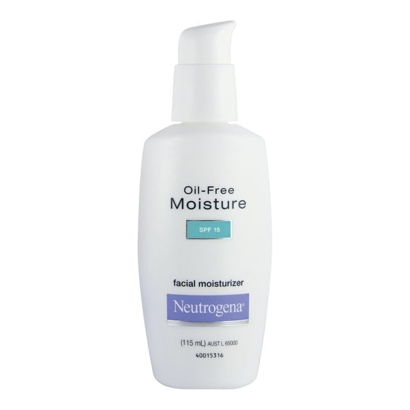 Neutrogena Oil-Free Moisture SPF 15 115ml