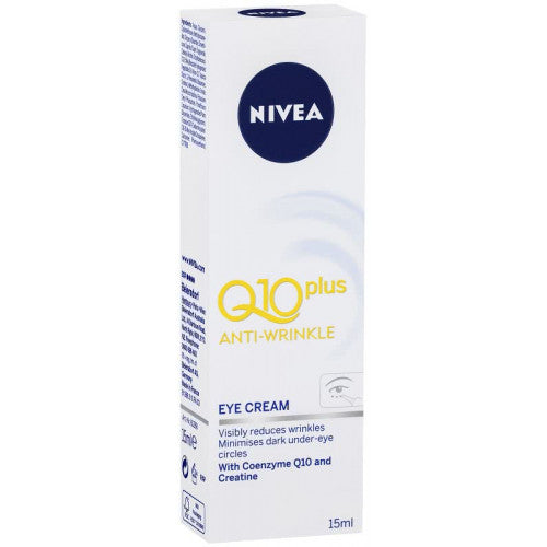Nivea Anti-Wrinkle Q10 Plus Eye Cream 15ml