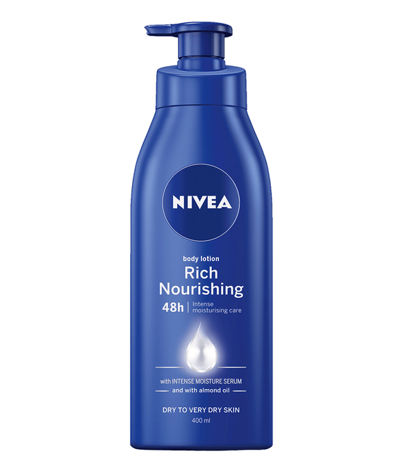 Nivea Body lotion Rich Nourishing with Almond Oil 400ml