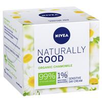 Nivea Naturally Good Organic Chamomile Sensitive day Cream 50ml