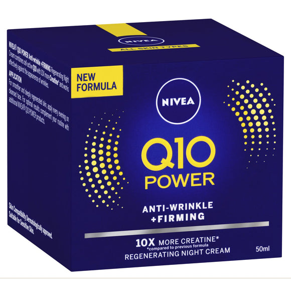 Nivea Q10 Power Anti-Wrinkle+Firming 50ml