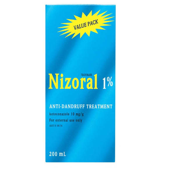 Nizoral 1% Anti-Dandruff Treatment Shampoo 200mL