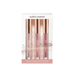 Nude By Nature Starlight Lipgloss Trio Gift Pack