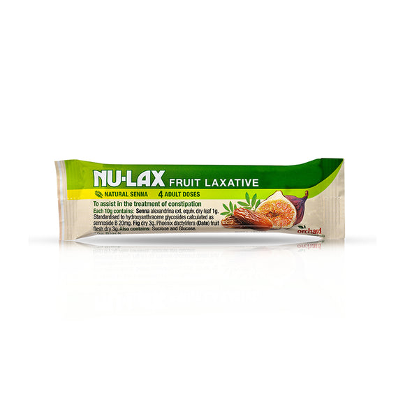 Nulax Fruit Laxative Bar 40g