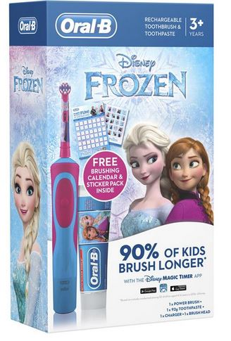Oral B Disney Frozen Rechargeable Toothbrush & Toothpaste