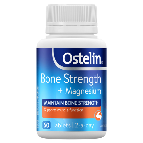 Ostelin Bone Strengths + Magnesium 60 tablets