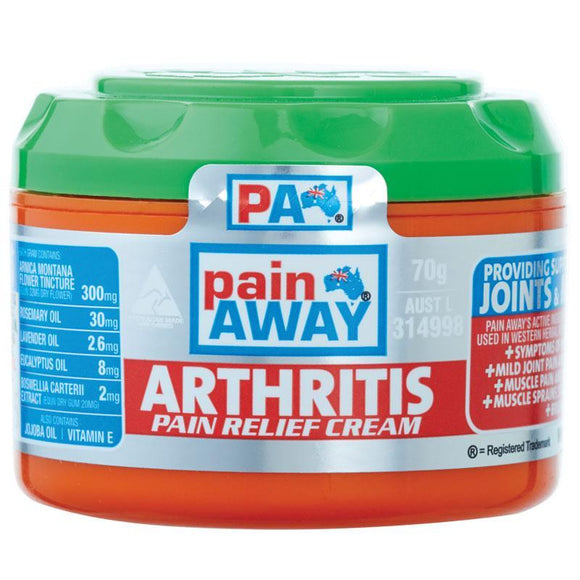 Pain Away Arthritis Pain Relief Cream 70g