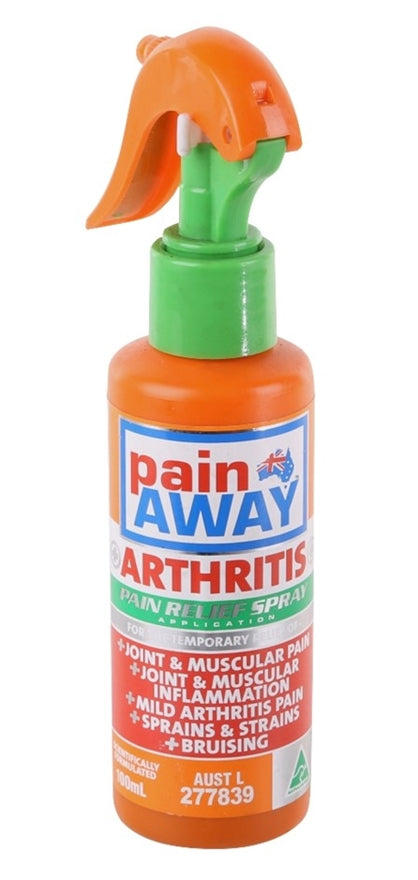 Pain Away Arthritis Pain Relief Spray 100ml