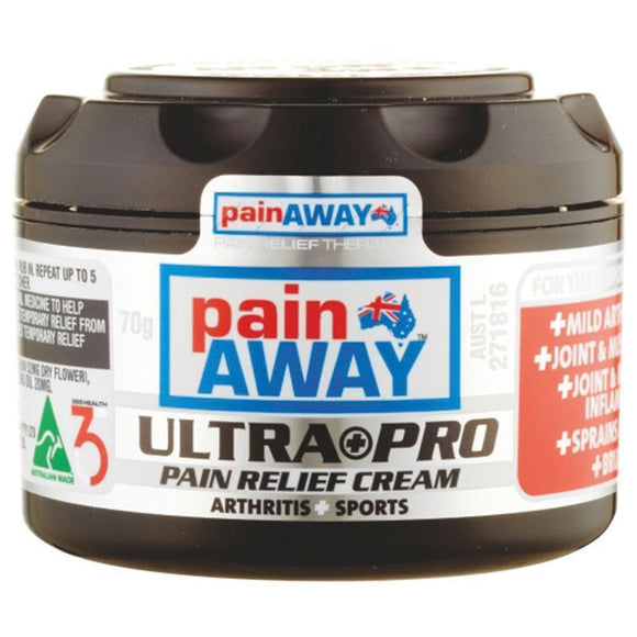 Pain Away Ultra+Pro Pain Relief Cream 70g