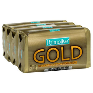 Palmolive Gold Daily Deodorant Protection 4 Pack