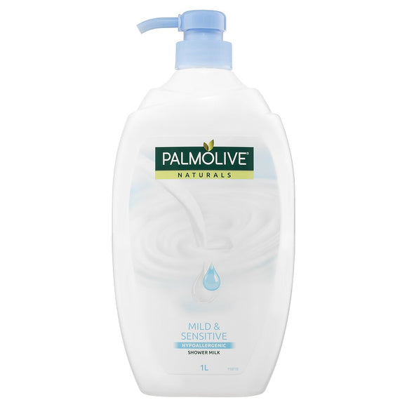 Palmolive Naturals Mild & Sensitive Hypoallergenic Shower Milk Body Wash 1L