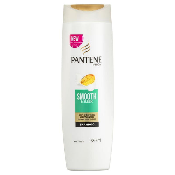 Pantene Smooth And Sleek Shampoo 350ml