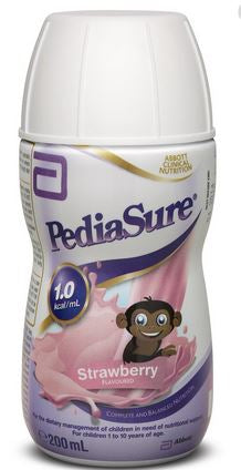 PediaSure Strawberry Flavoured Nutritional Support 200mL