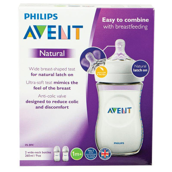 Phillips Avent Natural feeding bottle 260ml