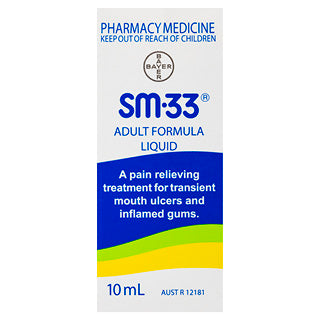 SM-33 Adult Formula Liquid 10mL