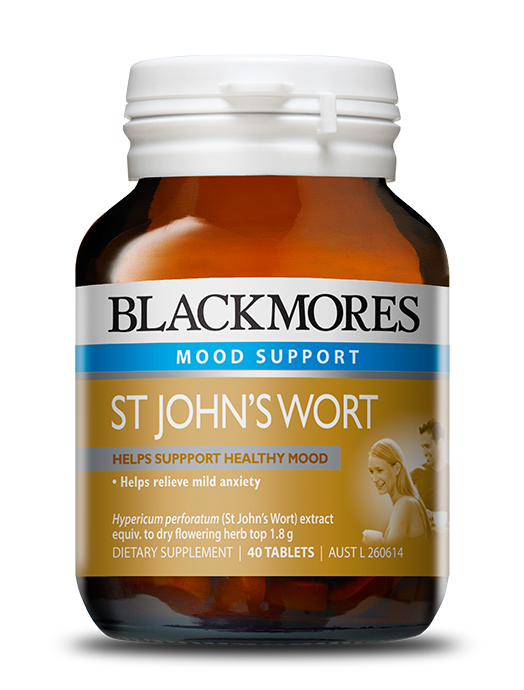 Blackmores Mood Support St John's Wort 90 Tablets