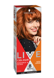 Schwarzkopf Live Colour Aztec Copper 8 Washes
