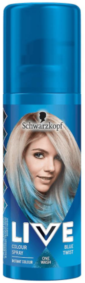 Schwarzkopf Live Colour Spray Blue Twist 1 Wash 70g