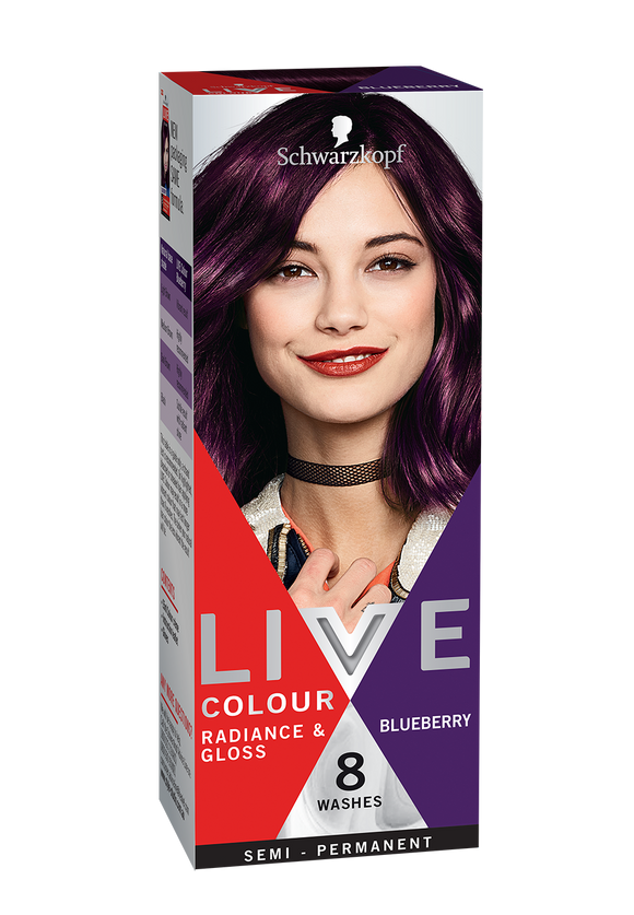 Schwarzkopf Live Colour Blueberry 8 Washes