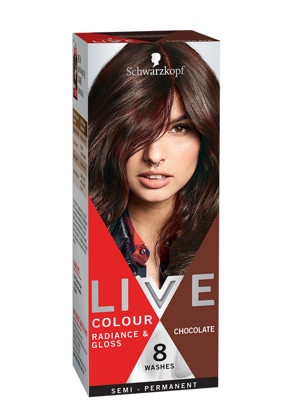 Schwarzkopf Live Colour Chocolate 8 Washes