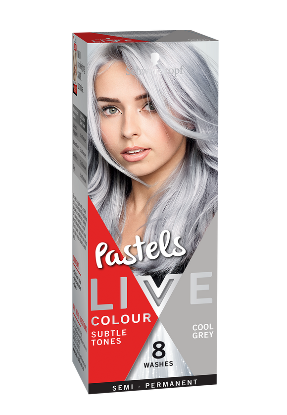 Schwarzkopf Live Colour Cool Grey 8 Washes