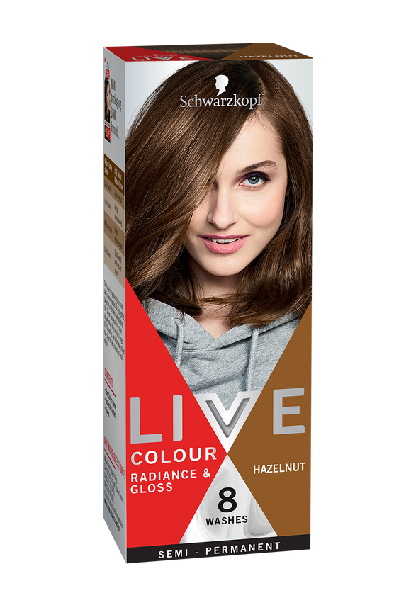 Schwarzkopf Live Colour Hazelnut 8 Washes