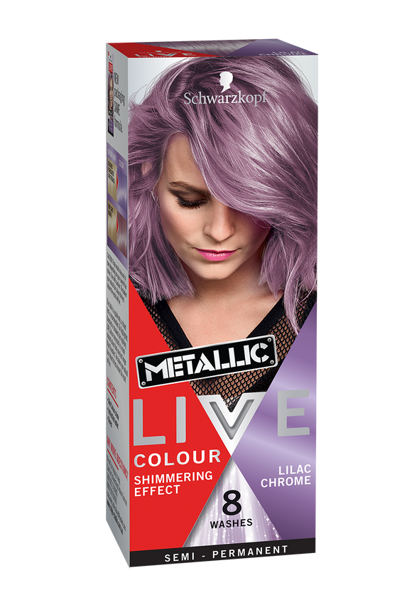 Schwarzkopf Live Colour Lilac Chrome 8 Washes