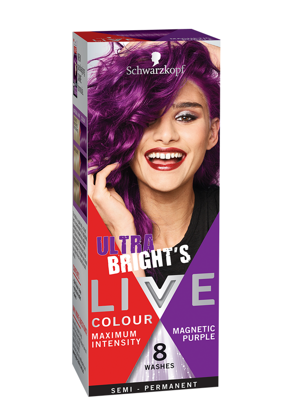Schwarzkopf Live Colour Magnetic Purple 8 Washes
