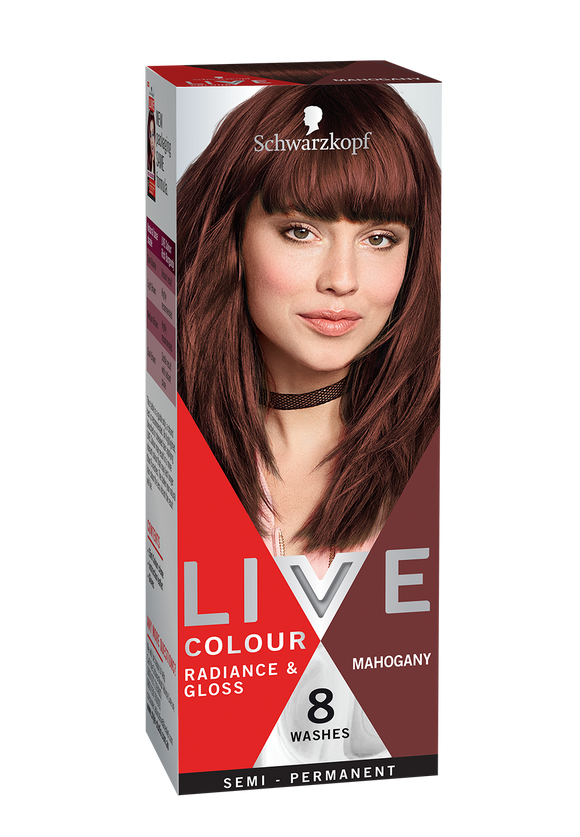 Schwarzkopf Live Colour Mahogany 8 Washes
