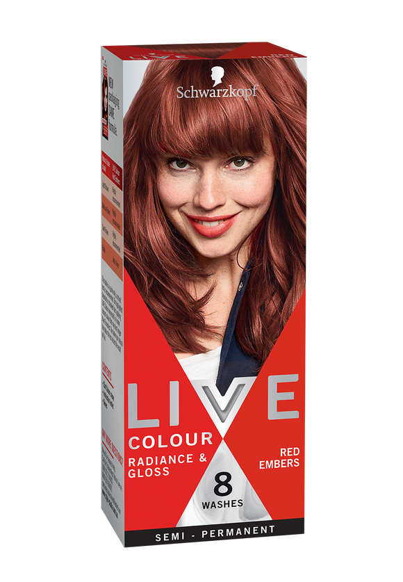 Schwarzkopf Live Colour Red Embers 8 Washes