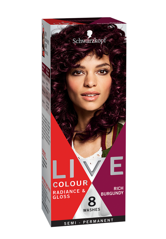Schwarzkopf Live Colour Rich Burgundy 8 Washes
