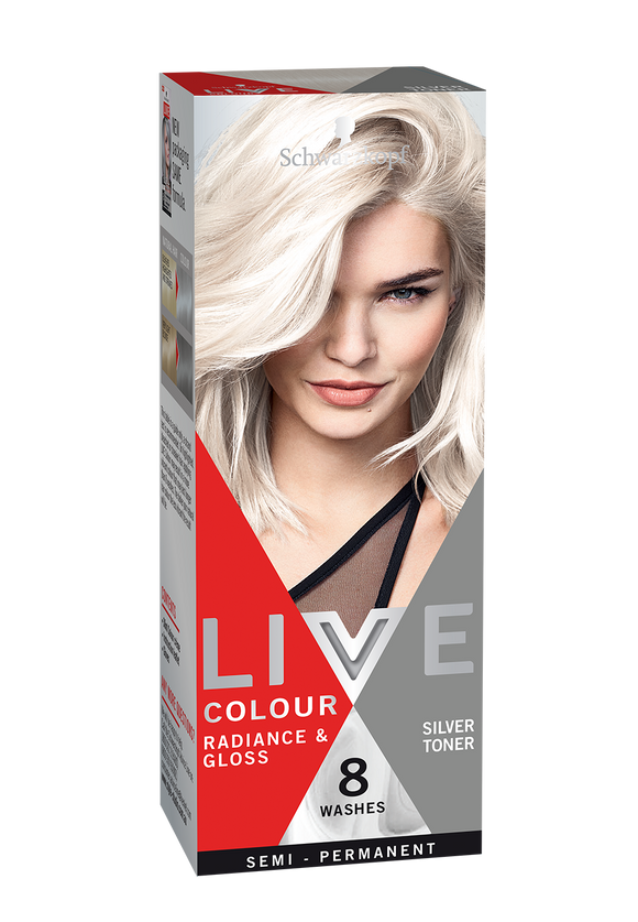 Schwarzkopf Live Colour Silver Toner 8 Washes