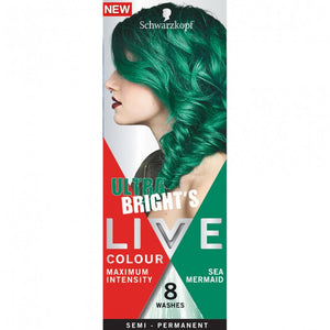 Schwarzkopf LIVE Colour Ultra Bright's Sea Mermaid