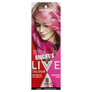 Schwarzkopf Live Colour Ultra Bright's Shocking Pink Hair Colour