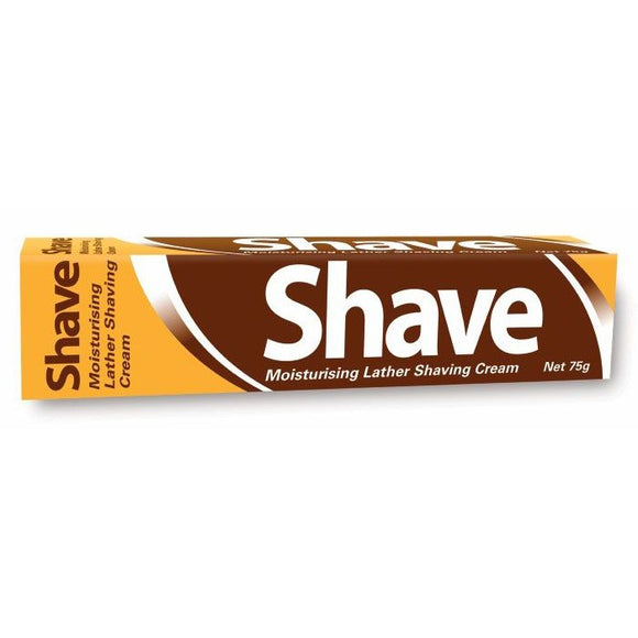 Shave Moisturising Lather Shaving Cream 75g