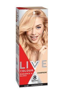Schwarzkopf Live Colour Radiance & Gloss Champagne 8 Washes
