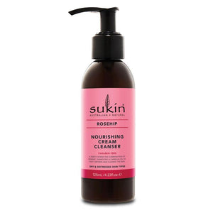 Sukin Rosehip Nourishing Cream Cleanser 125ml