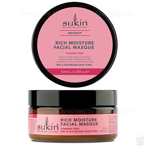 Sukin Rosehip Rich Moisture Facial Masque 100ml
