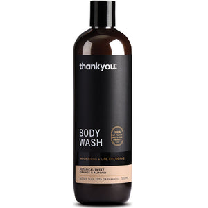 Thankyou Botanical Sweet Orange & Almond Body Wash 500mL