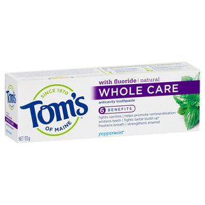 Tom's Whole Care Toothpaste 113g
