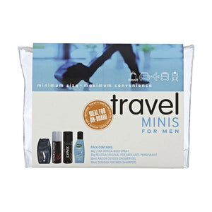 Travel Minis For Men 4 Piece