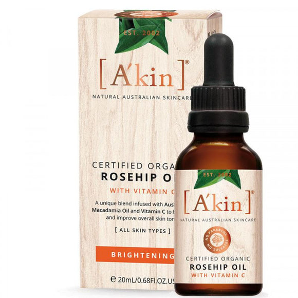 Akin Rosehip Oil With Vitamin C 20ml