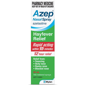 Azep Hayfever Relief Nazal Spray 20mL