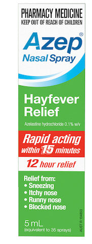 Azep Hayfever Relief Nazal Spray 5mL