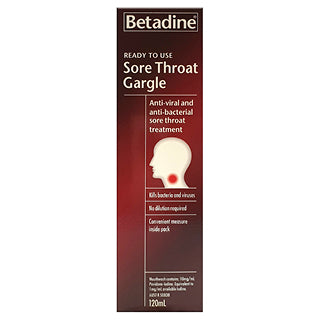 Betadine Sore Throat Gargle 120mL