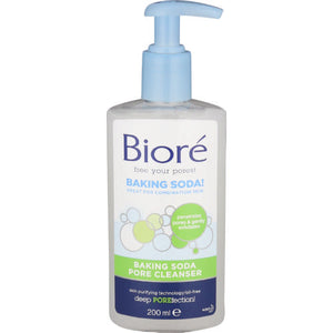 Biore Baking Soda Pore Cleanser 200mL