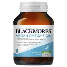 Blackmores Vegan Omega-3 Oil 120 Capsules