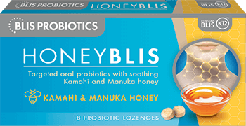 Blis Probiotics HoneyBlis Lozenges 8