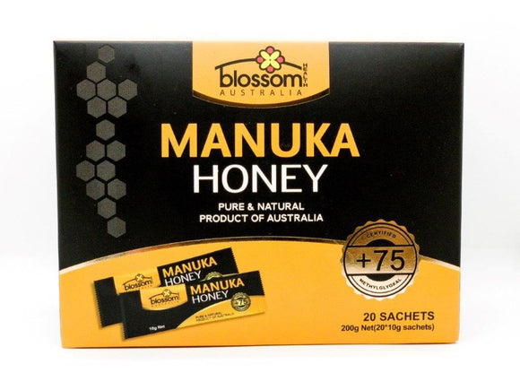 Blossom Health Manuka Honey +75GMO 20 sachets 200g